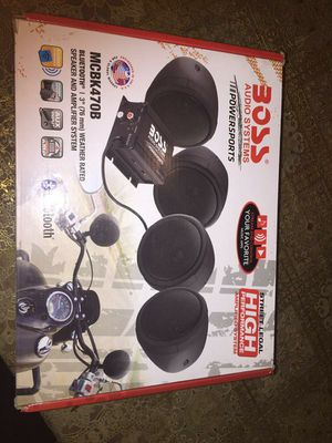 Boss audio system for Sale in Bakersfield, CA