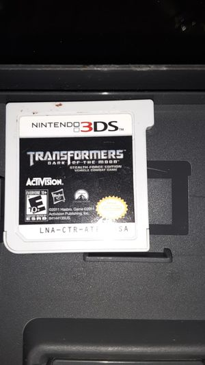 nintendo 3ds transformers for Sale in Las Vegas, NV