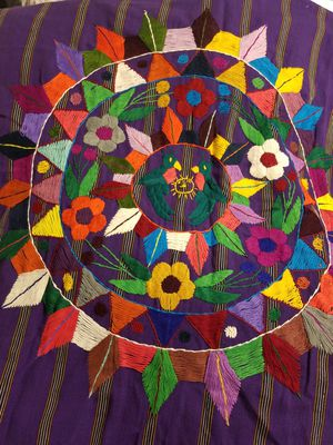 FREE. Embroidered wall hanging from Guatemala for Sale in Lynnwood, WA