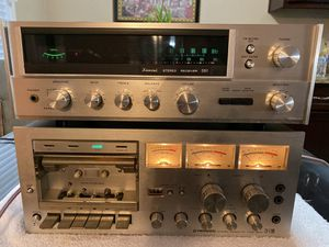 SANSUI 551 Stereo Receiver and PIONEER CT-F700 Stereo Cassette for Sale in Covina, CA