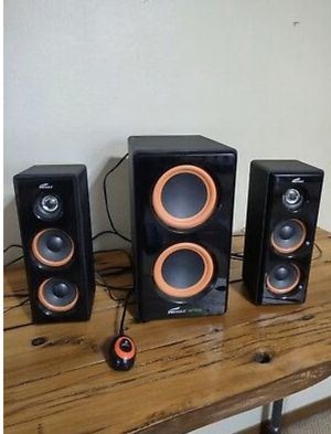 Eagle Arion Legacy Media Speakers ET-AR506-BK 100 Watts 2.1 Computer Gaming for Sale in Columbus, OH