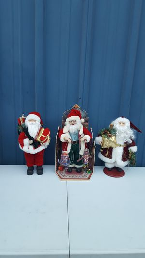 SANTA CLAUSES $15 EACH for Sale in Fountain Valley, CA
