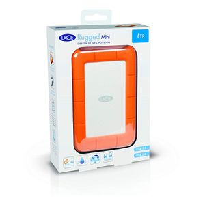 New LaCie Rugged Mini 4TB External Hard Drive Portable HDD – USB 3.0 USB 2.0 compatible, Drop Shock Dust Rain Resistant Drive Mac PC Computer Desktop for Sale in Brooklyn, NY