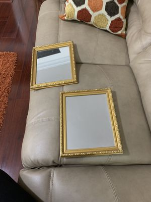 Wall mirrors (gold) for Sale in Knightdale, NC