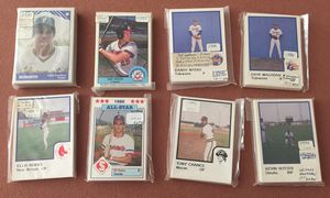8 Minor League sets from the 1980's for Sale in Goodyear, AZ