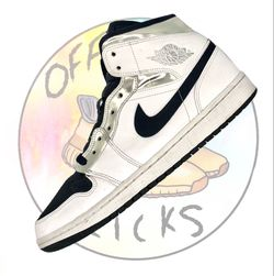 "Nike Air Jordan 1 Mid ""White Silver"" Size 10.5, Style Code 554724121 for Sale in Norman,  OK"