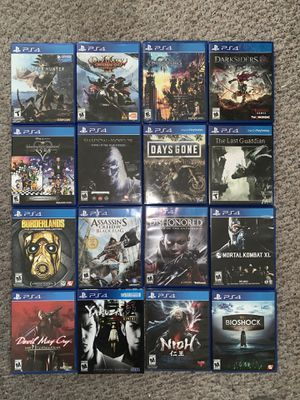 great condition ps4 games Sony PlayStation 4 (see description ) for Sale in Seattle, WA