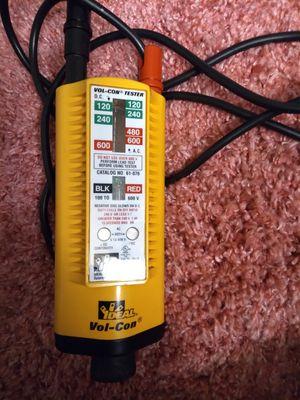 Ideal vol con voltage tester asking 60 for Sale in Dallas, TX