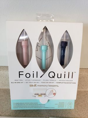 Foil Quill with heat sheets for Sale in Millington, TN
