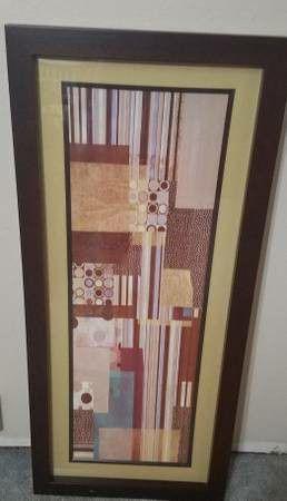 Target Mod Panel Mondo Dotz 4 Framed Picture Art for Sale in Westminster, CO