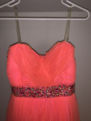 Coral Pink Prom Dress for Sale in Grand Prairie, TX