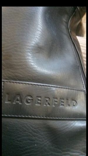 Lagerfeld real lather duffle bag! for Sale in Oakland, CA