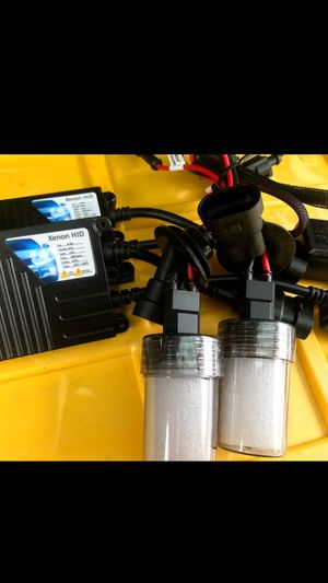 H9 MODEL XENON HID lights kit with WARRANTY. Car HID headlights set XENON plug and play for Sale in West Covina, CA