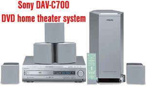Sony DAV-C700 DVD home theater system for Sale in East Riverdale, MD