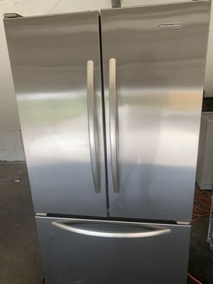 Kitchenaid stainless refrigerator for Sale in Fresno, CA
