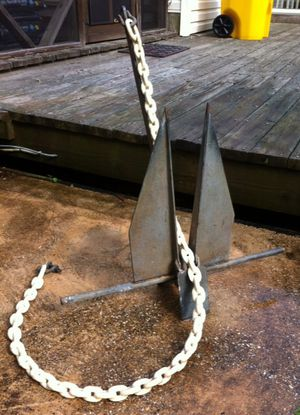 Danforth boat anchor for Sale in Arnold, MD