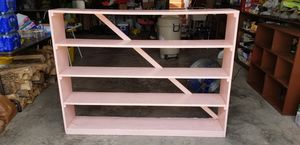 "Handy Solid Wood Garage / Shed Laundry Room Shelf 60""L x 45""H x10"" D for Sale in Williamsport, PA"