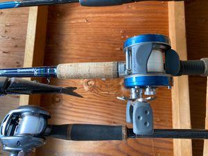Fishing rods n reels big swimbait for Sale in Boulder City, NV