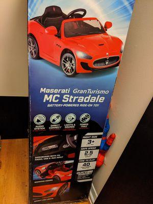 Maserati child car for Sale in North Springfield, VA