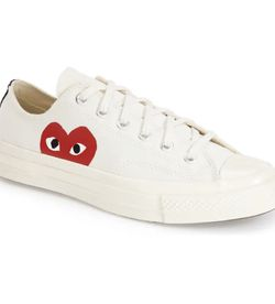 W2C CDG Converse Low White Cream for Sale in Bothell,  WA