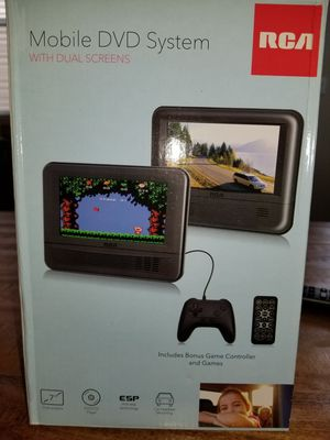 RCA Mobile DVD System w/Dual Screen for Sale in Sherwood, OR