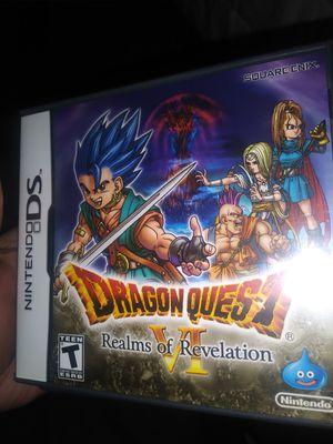 Dragon quest 6 ds for Sale in Las Vegas, NV