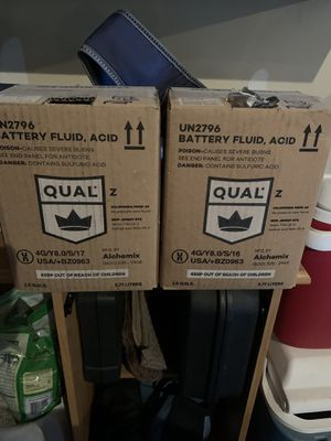 FREE Battery Acid for Sump Pump for Sale in Algonquin, IL