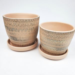Set of 2 Terra Cotta Planting Pots for Sale in Brooklyn, NY