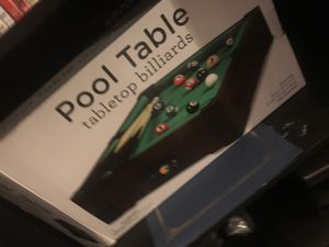 Pool table for Sale in Mountain View, CA