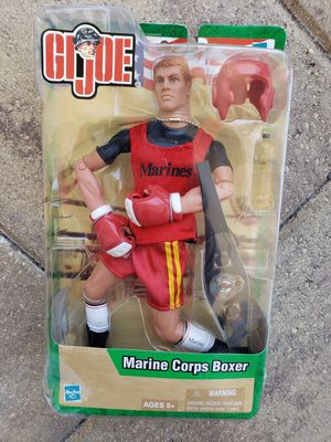 Brand new 2003 collectable GI Joe Marine corps boxing action figure for Sale in Riverview, FL