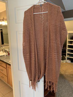Charlotte Russe-2x fringe sweater vest for Sale in Avon, IN