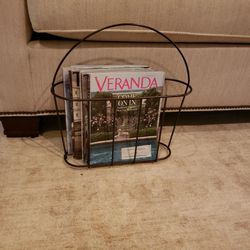 MOVING MUST SELL Oil Rubbed/ Bronze Magazine Rack for Sale in Duluth,  GA