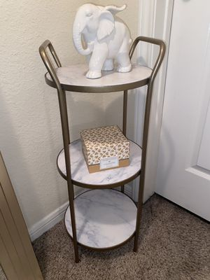 Corner marble shelf for Sale in Tomball, TX