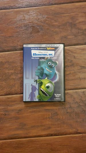 DVD - Monsters, Inc. for Sale in San Clemente, CA
