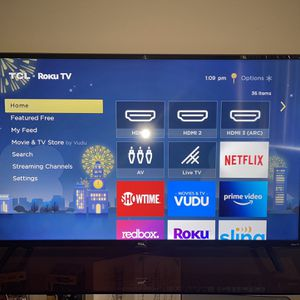 TCL Roku Tv 50 Inch No Remote for Sale in Colorado Springs, CO