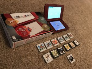 NEW NINTENDO 3DS XL + NINTENDO CASE + 13 GAMES. FIRM PRICE.......FIRM PRICE for Sale in Ashburn, VA