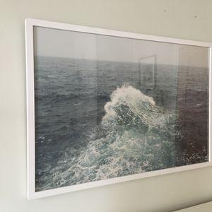 Framed Petros Koublis Large Ocean Wave Photography Print for Sale in Portland, OR