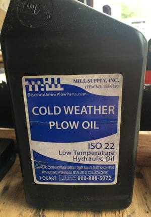 Cold weather plow oil for Sale in Ivyland, PA