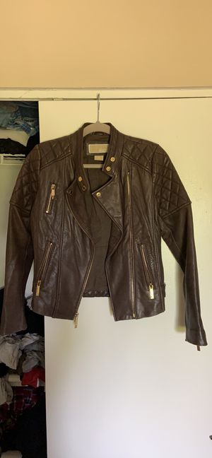 Michael Kors leather jacket for Sale in Virginia Beach, VA