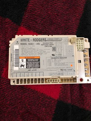 White Rodgers AC 50A51-495 control unit Trane American Standard CNT2184 for Sale in Hazard, CA