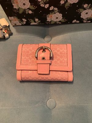 Pink coach wallet for Sale in Clermont, FL