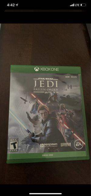 Xbox One Star Wars Jedi Fallen Order (Trade) for Sale in San Diego, CA