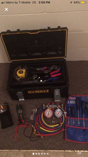HVAC/ELECTRICAL TOOLS for Sale in Fairmount, GA