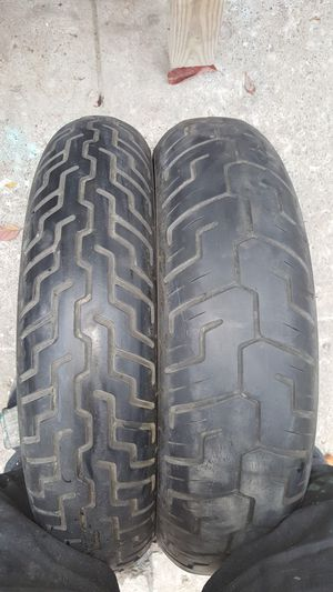 Harley Dunlop D401 & D402F used tires for Sale in Cleveland, OH
