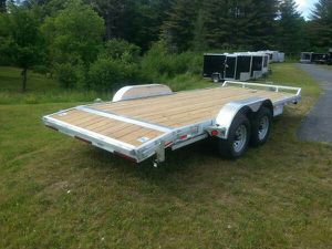 New 20' Aluminum Car Trailer 9990 GVWR for Sale in Worcester, MA