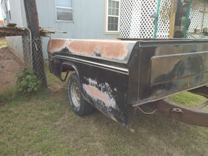 Great shape no title will give a bill of sale ...1970 dodge pickup bed trailer for Sale in Amarillo, TX