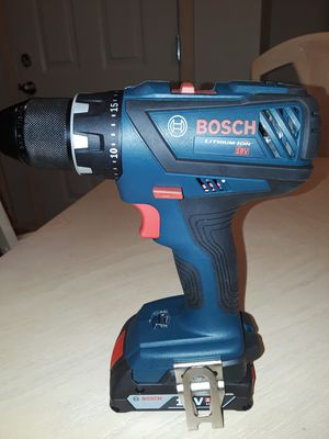 BOSCH DRILL WITH BATERY BOTH NEW for Sale in Everett, WA