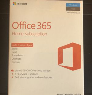 Windows Office 365 for Sale in San Francisco, CA