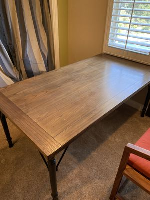 Best Offer//Wooden Dining Table / Desk // Perfect Condition for Sale in Yorba Linda, CA