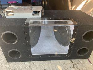 Amplificador con 2 bocinas 16 infinity buen estado for Sale in San Jose, CA